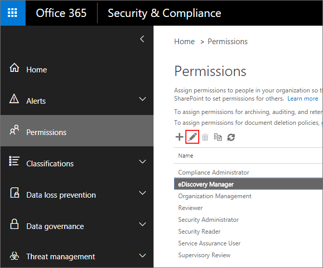 Go to Office 365 Admin Center