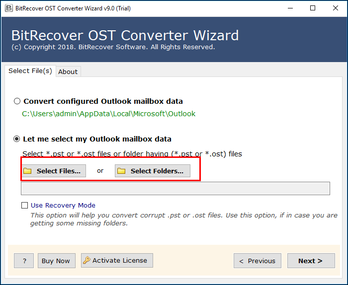 migrate multiple OST files