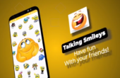 Talking Smileys and Emojis App