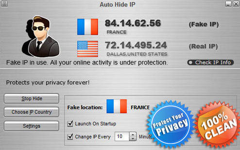 How to install Auto Hide IP
