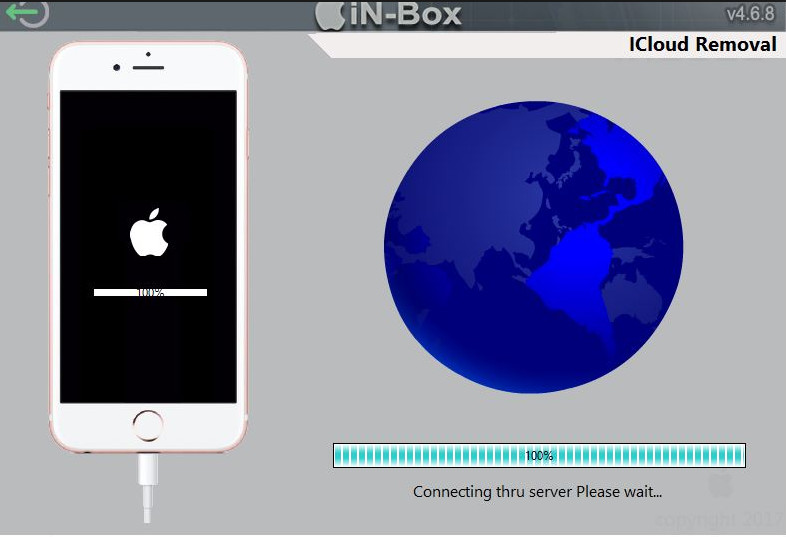 In-box iCloud Lock Removal Tool for All iOS Devices