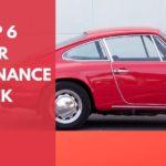 Top 6 car maintenance tips