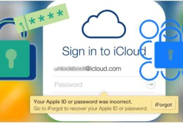 How to reset icloud forgotten password