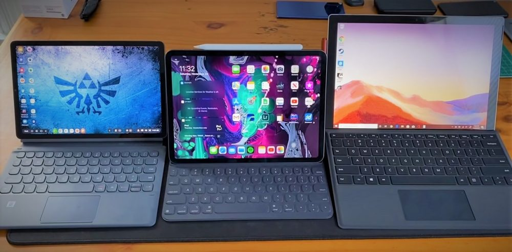 Samsung Galaxy Tab S6 vs Surface Pro 7 vs iPad Pro 11