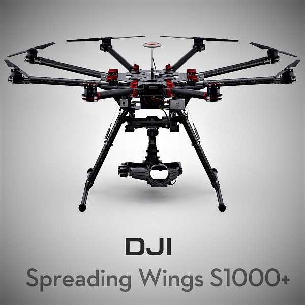 DJI spreading wings S1000