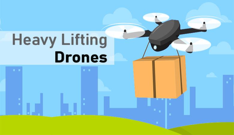 Heavy Lifting Drone