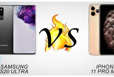 Samsung Galaxy S20 Ultra vs. iPhone 11 Pro Max