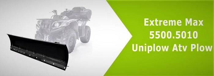 Extreme Max 5500.5010 Uniplow Atv Plow