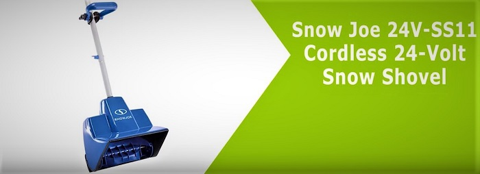 Snow Joe 24V-SS11 Cordless 24-Volt Snow Shovel