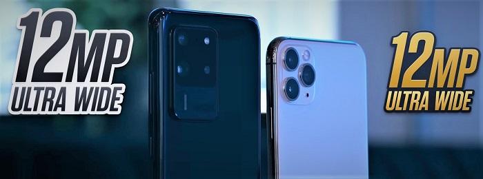S20 Ultra vs 11 Pro Max ultrawide Camera