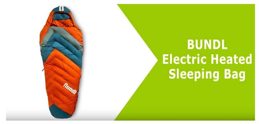 Bundl Electric Heated Sleeping Bag