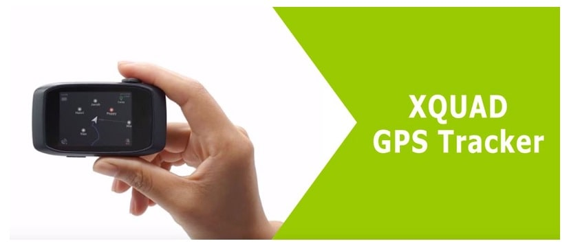 Xquad GPS Tracker