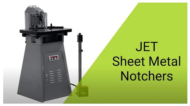 JET Sheet Metal Notchers