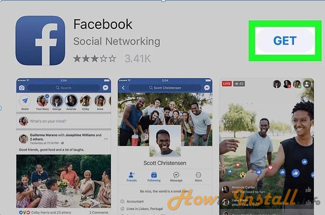 How To Install Facebook On iPhone step 4