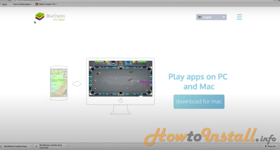 How To Install Google Play On Mac step 1
