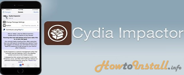 how to use Cydia impactor step1