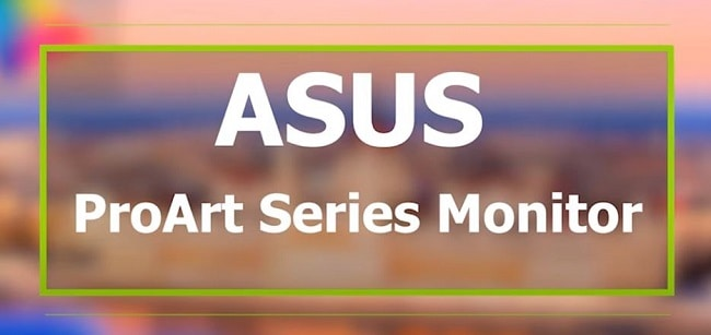 ASUS ProArt Series Monitor