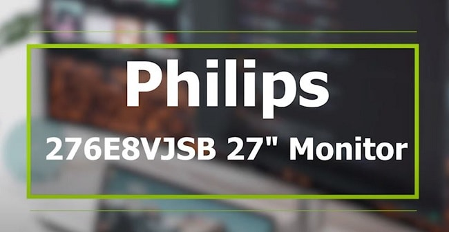 "Philips 276E8VJSB 27"" Monitor"