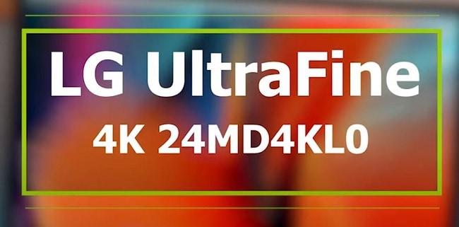 LG UltraFine 4K 24MD4KLO