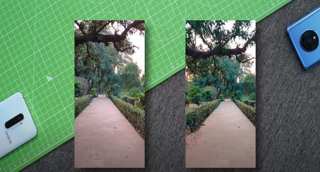 RealMe X2 Pro vs OnePlus 7T Video comparison