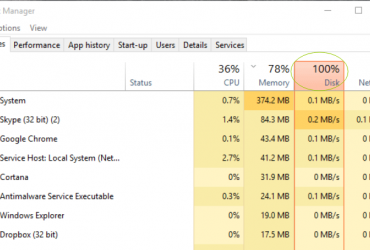 Best Ways to Fix a 100% Disk Usage on Windows 10